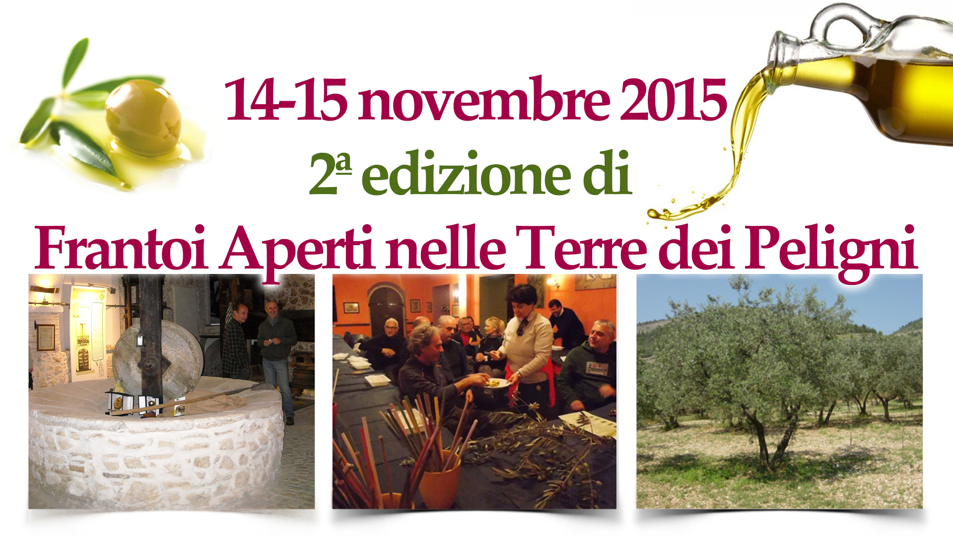 2ª edizione_Frantoi Aperti_nelle Terre dei Peligni_home